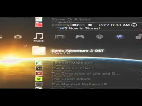 How to download music for the PS3