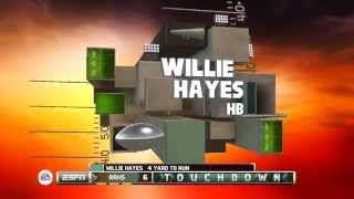 NCAA Football 14 - Road to Glory with RB Willie Hayes ep2