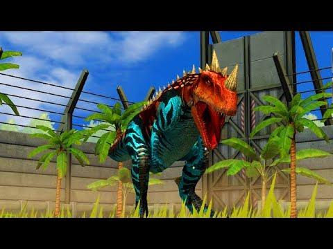 Jurassic World Game Mobile #85: Khủng long bạo chúa CERATOSAURUS sừng một nhóc =))