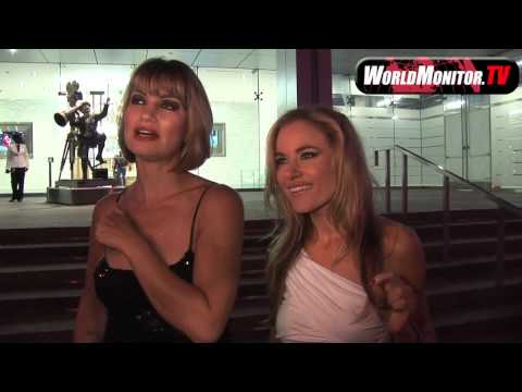 Paula Labaredas and Rena Riffel 'girls' talk about Lindsay Lohan arrest at BOA
