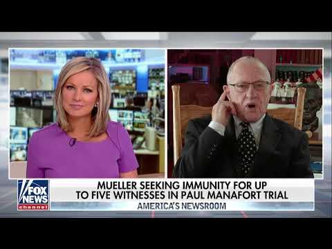 Dershowitz: Mueller Is 'Squeezing' Manafort to Get to Trump