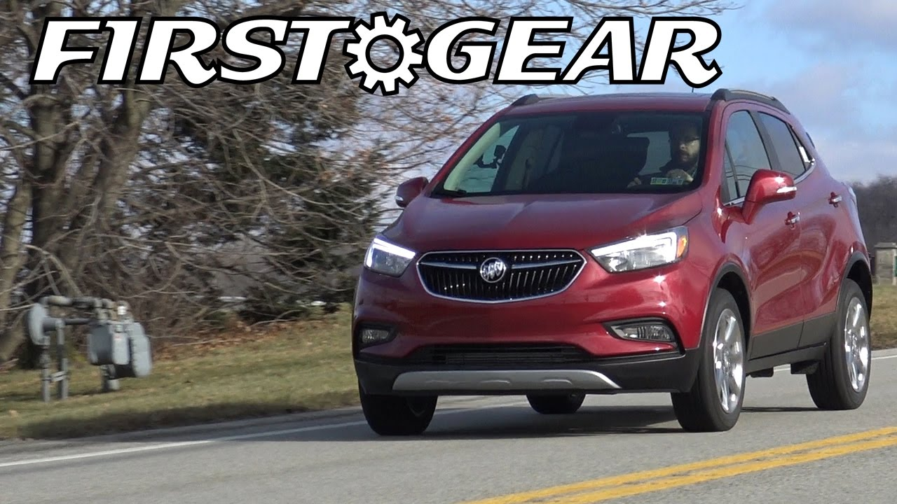 First Gear 2017 Buick Encore Preferred Ii Awd Review And Test Drive