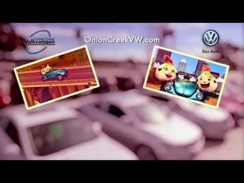 Onion Creek Volkswagen TV Commercial - North I-35