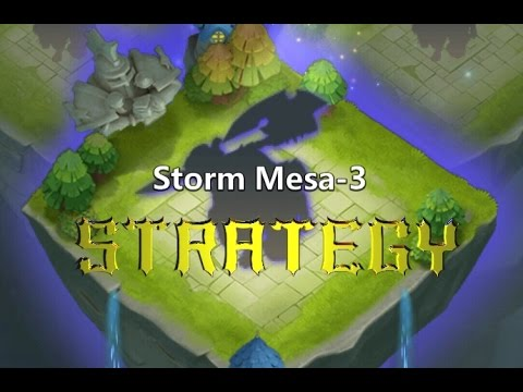 Castle Clash - Mesa 3 Strategy