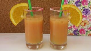 Cocktails for two | Zwei tolle tropischeFruchtcocktails | Rezept für 2 Cocktails