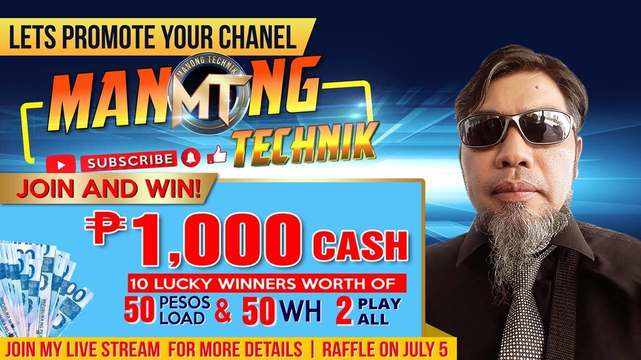 God Know Everything | Manong Technik | Live Stream | Raffle Entry | Day 6