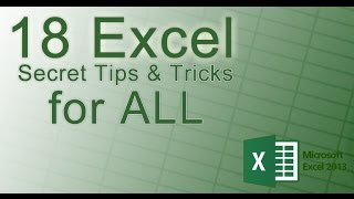 Secret Excel Tips and Trick You don't Know 2017✔