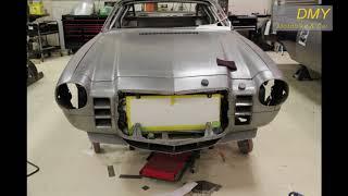 Restoration and Modification old Chevrolet Camaro SS 1970 black, split second