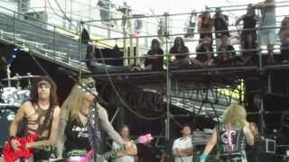 """ROTR 2013 Steel Panther performs """"Eyes Of A Panther """" Columbus Ohio May 19,2013"""