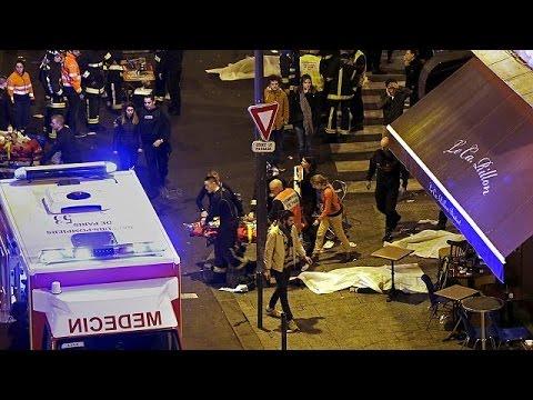 La noche de barbarie terrorista en París