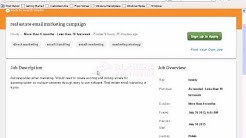 Bangla Tutorial    Email Marketing   part 2    Emil Marketing Job in Freelancing Marketplace