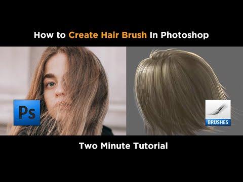 How To Create Hair Brush In Photoshop I Hair Brush In Photoshop I How To Make Brush In Photoshop I