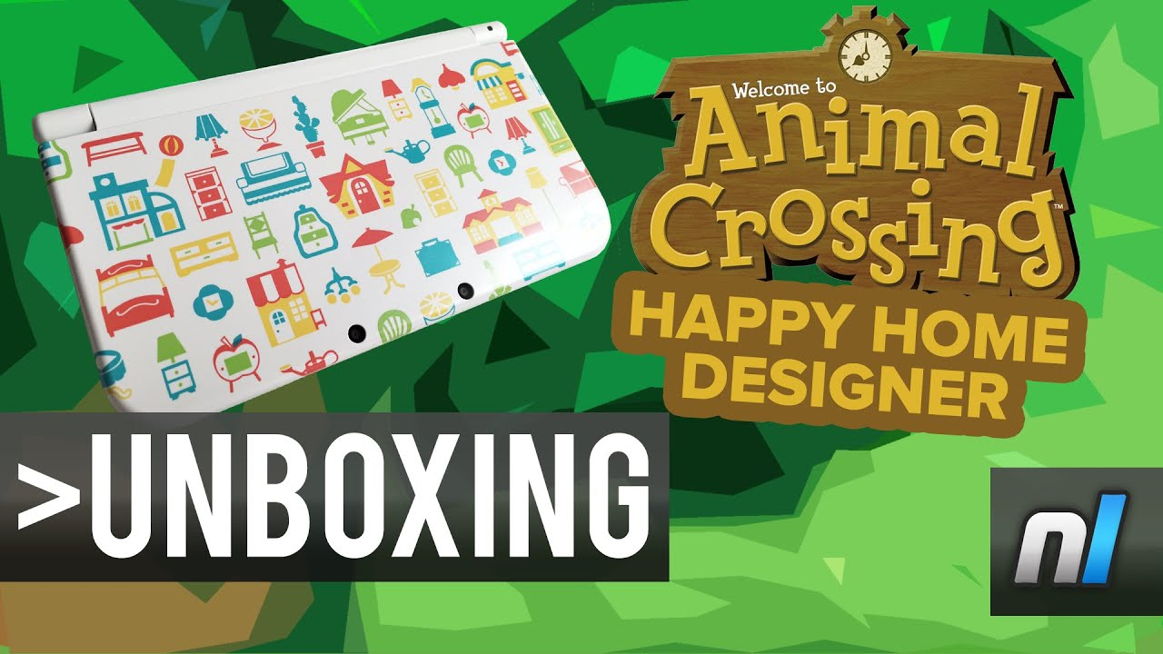 Animal crossing happy home designer new nintendo 3ds xl for 7 11 happy home designer