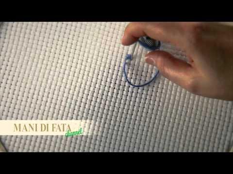 Mani Di Fata Punto Croce Cross Stitch Punto De Cruz Youtube