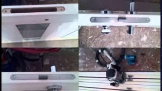 видео Входные железные двери в Звенигороде