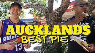 Best Pies In Auckland With Bad Luck Fale & Im Sparkzz