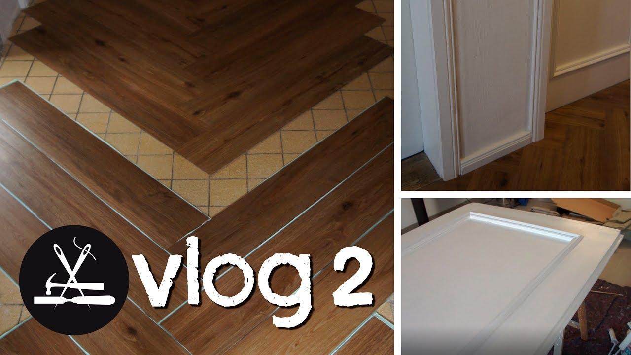 Fußboden Im Haus ~ Vlog 2 haus renovieren türen fußboden zierleisten youtube
