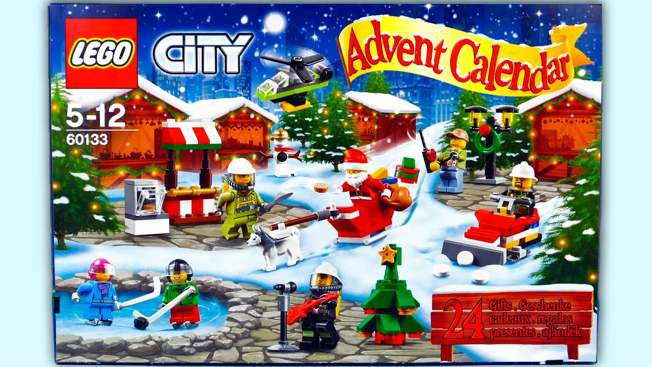 lego city advent calendar 24 gifts christmas surprise toys 2016