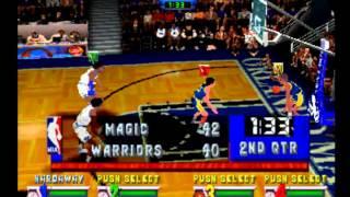 NBA JAM EXTREME/ MAGIC VS WARRIORS [PS1] [HD]