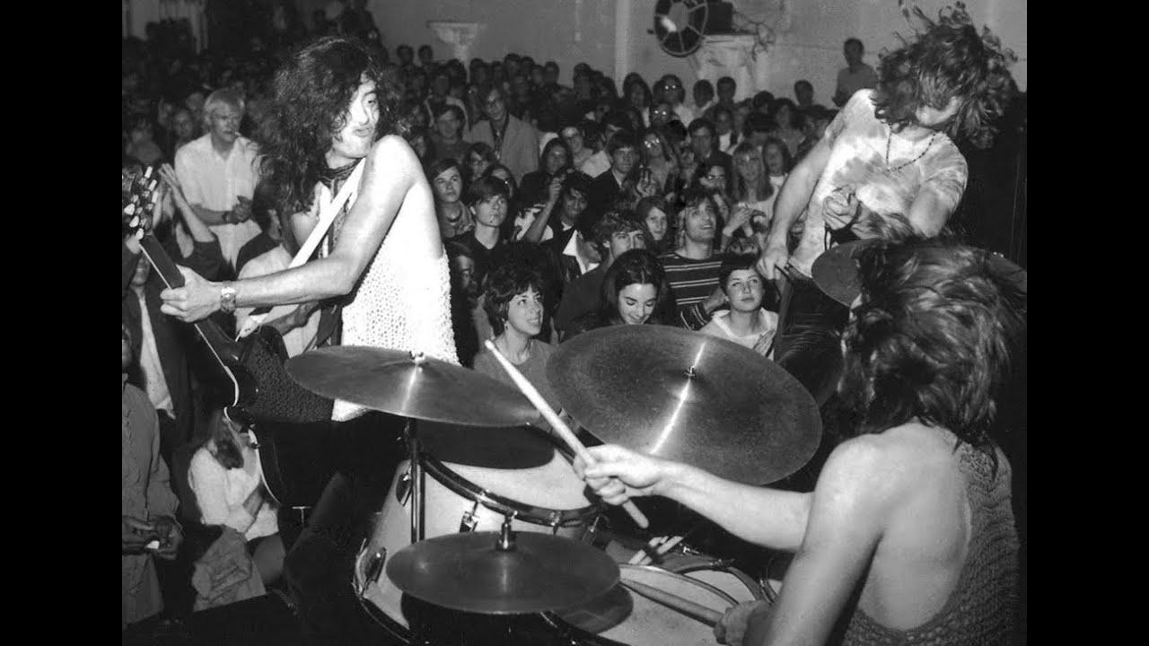 Led Zeppelin Drinking Tea