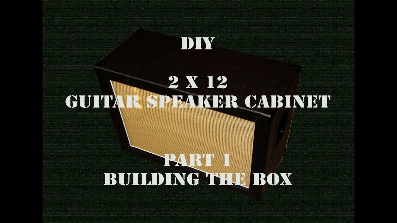 diy 2x12 guitar speaker cabinet part 1 hd youtube. Black Bedroom Furniture Sets. Home Design Ideas