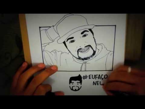 Desenhando Neco em Cartoon