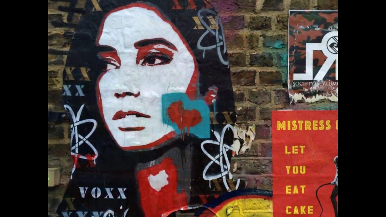 Best London Street Art 100 Banksy Invader Fairey Youtube