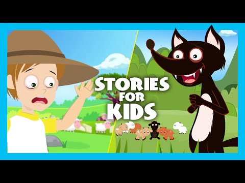 The Wolf and The Seven Little Goats Story | The Boy Who Cried Wolf Story | Moral Stories