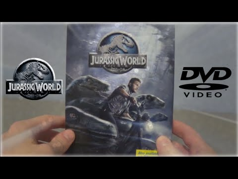 Jurassic World || DVD || Unboxing and Review