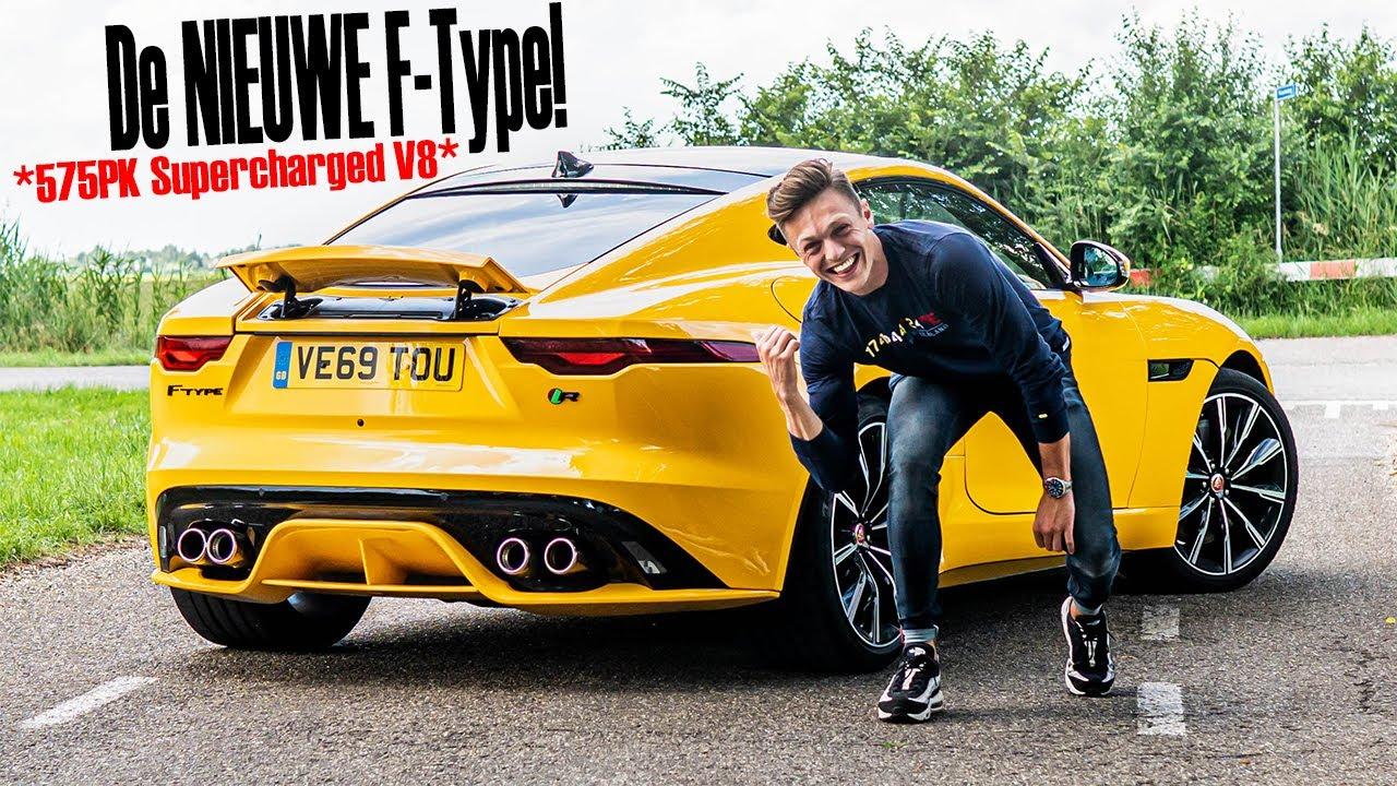 EERSTE REACTIE op de NIEUWE Jaguar F-Type R!