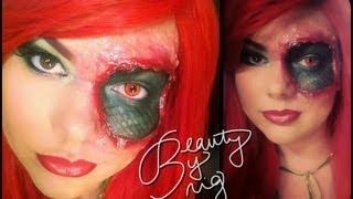 Reptilian Makeup Thumbnail