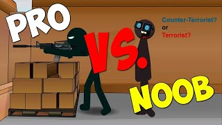Counter Strike 1.6 - Pro vs Noob HD!
