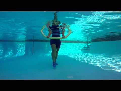 Aqua Exercise: Noodle Leg Press NOODLE EXERCISE#1 - WECOACH