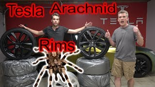 Tesla Rims: Arachnid, Slipstream, & T-Sportline