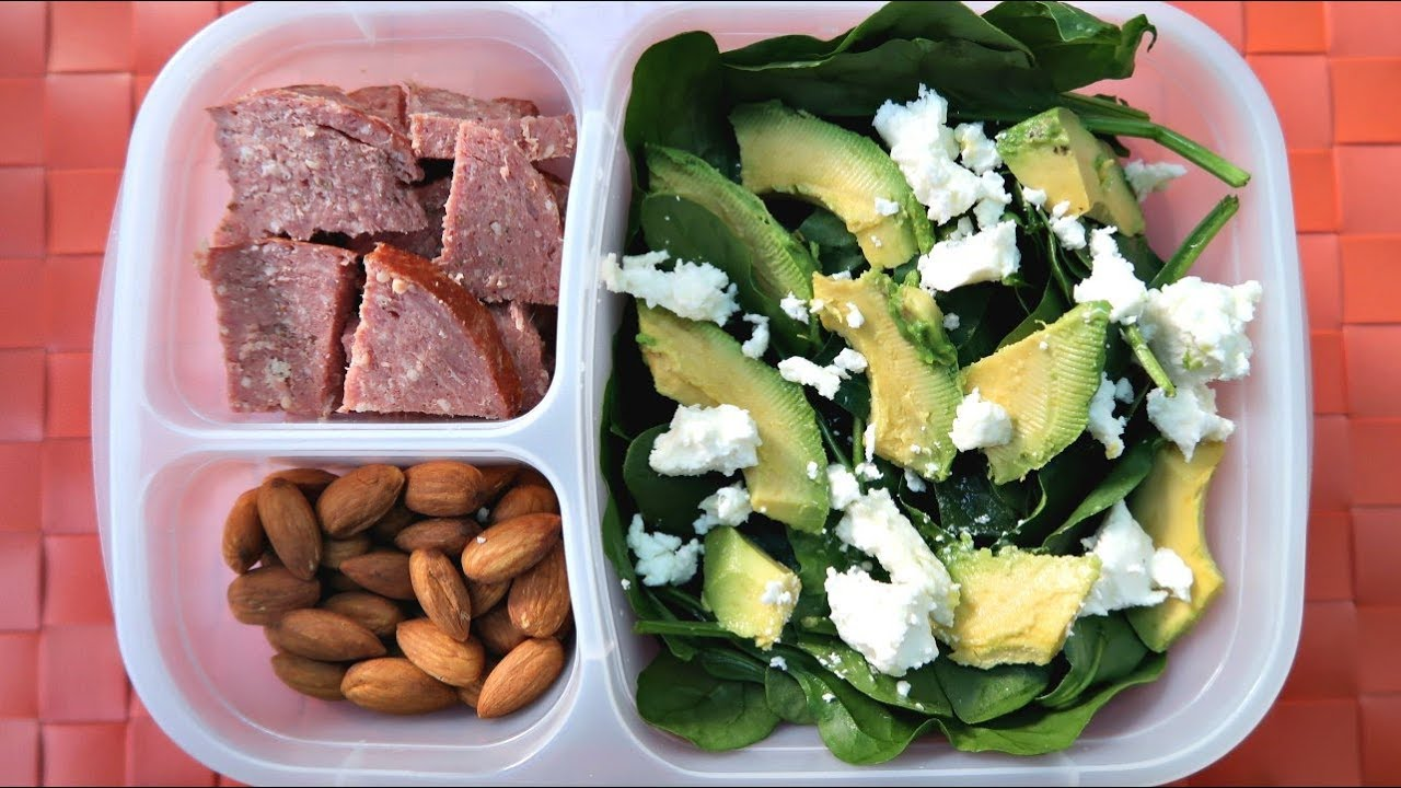 Low Carb Keto Packed Lunch Ideas Youtube
