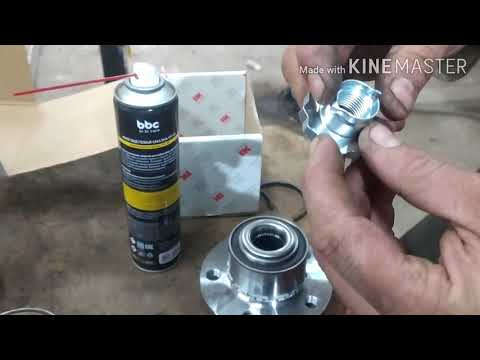 Замена переднего ступичного подшипника polo sedan v