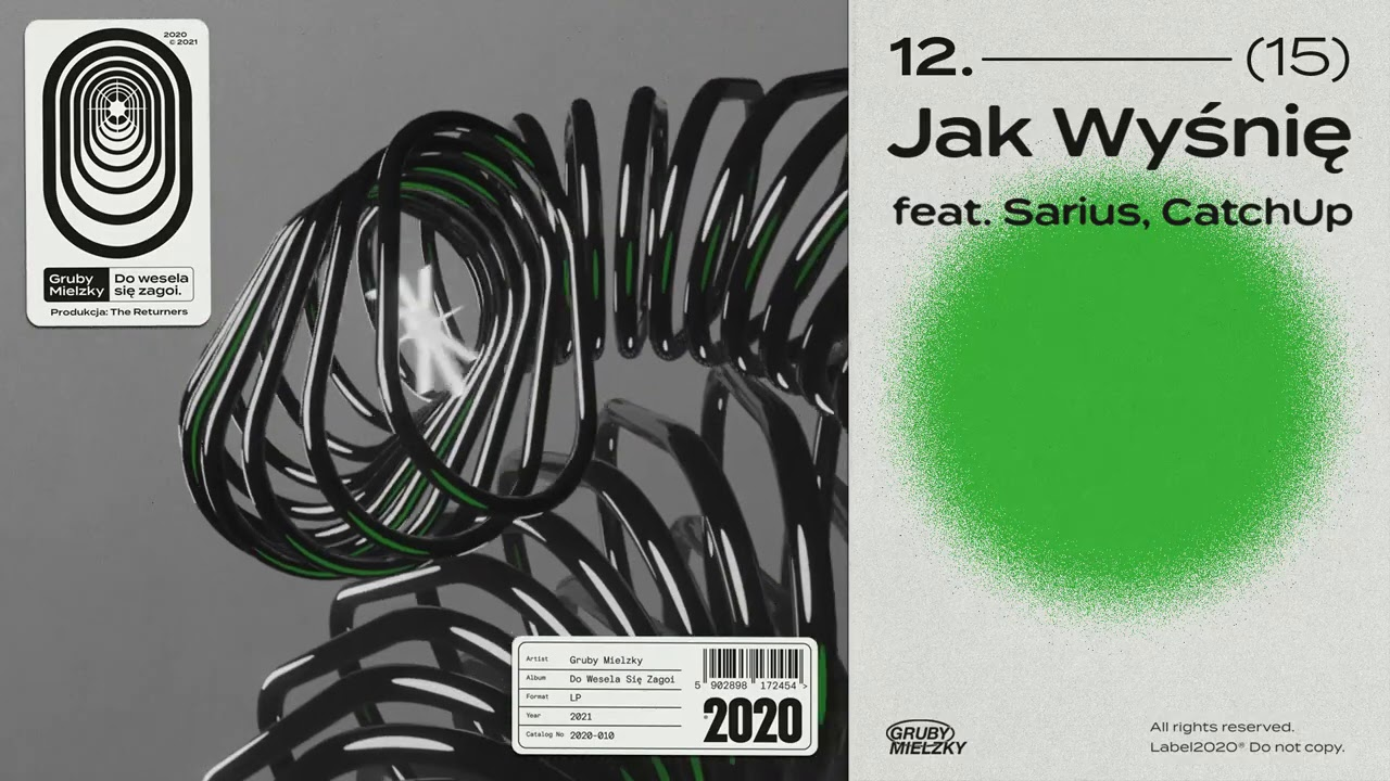 Gruby Mielzky feat. Sarius, CatchUp - Jak Wyśnię (prod. The Returners)