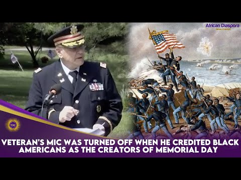 Veteran's Mic Was Turned Off When He Credited Black Americans As The Creators Of Memorial Day