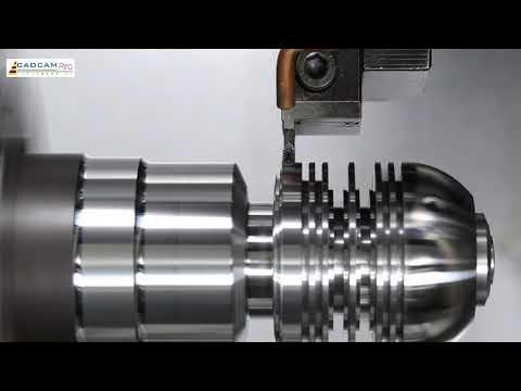 Fastest CNC Lathe Machine Working, Modern Technology CNC Milling Machine Metal