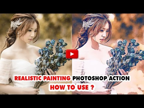 Realistic Painting Photoshop Action - Video Tutorial | Mesothelioma Attorney Directory Of Photoshop