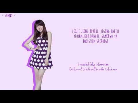 Girls' Generation (소녀시대) - Top Secret Lyrics [Color Coded/ENG/ROM]