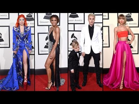 Grammy Awards 2016 Red Carpet Fashion