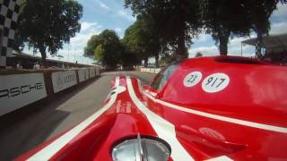 Onboard the Porsche 917K at Goodwood