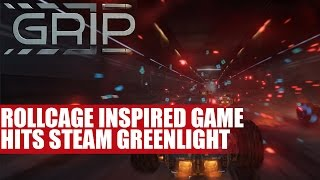Grip - A Rollcage Inspired Game Hits Steam Greenlight   Dev Talks Details