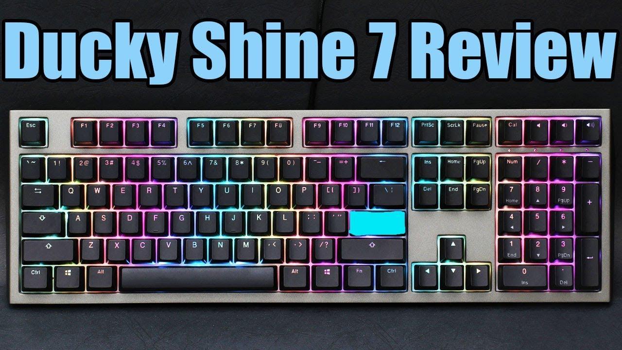 37880b3cb63 Ducky Shine 7 RGB Mechanical Keyboard Review - The Best Just Got Better!