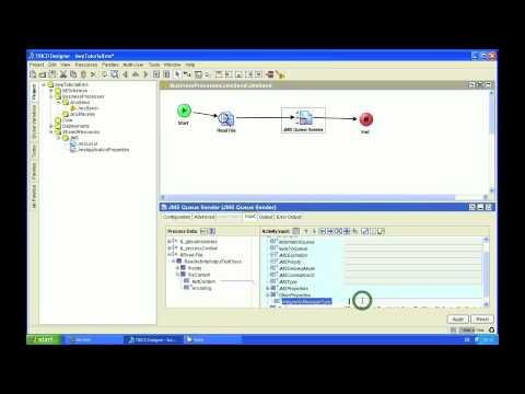 TIBCO Tutorial: EMS Part 1 - Send and Receive JMS Queues