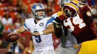 Lions vs. Redskins highlights - 2015 NFL Preseason Week 2