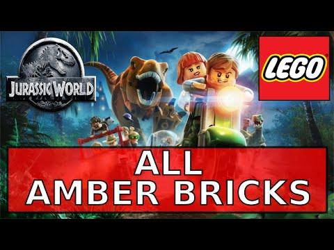 Lego Jurassic World - All Amber Bricks - YouTube
