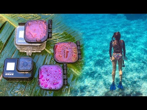 GoPro HERO8 Underwater Filters by PolarPro Review! | MicBergsma