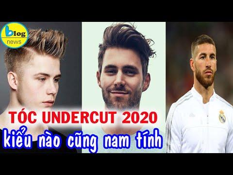 TOP 10 kiểu tóc UNDERCUT đẹp nhất 2020 cho nam giới